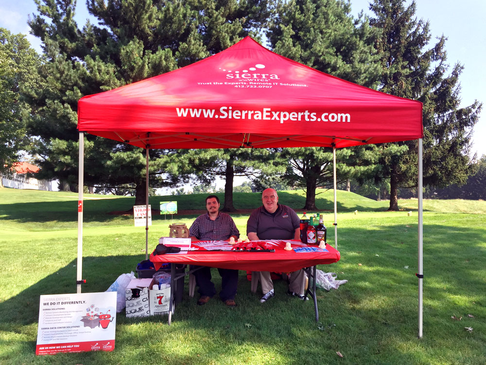 Sierra Sponsored the 2017 FIN Golf Outing