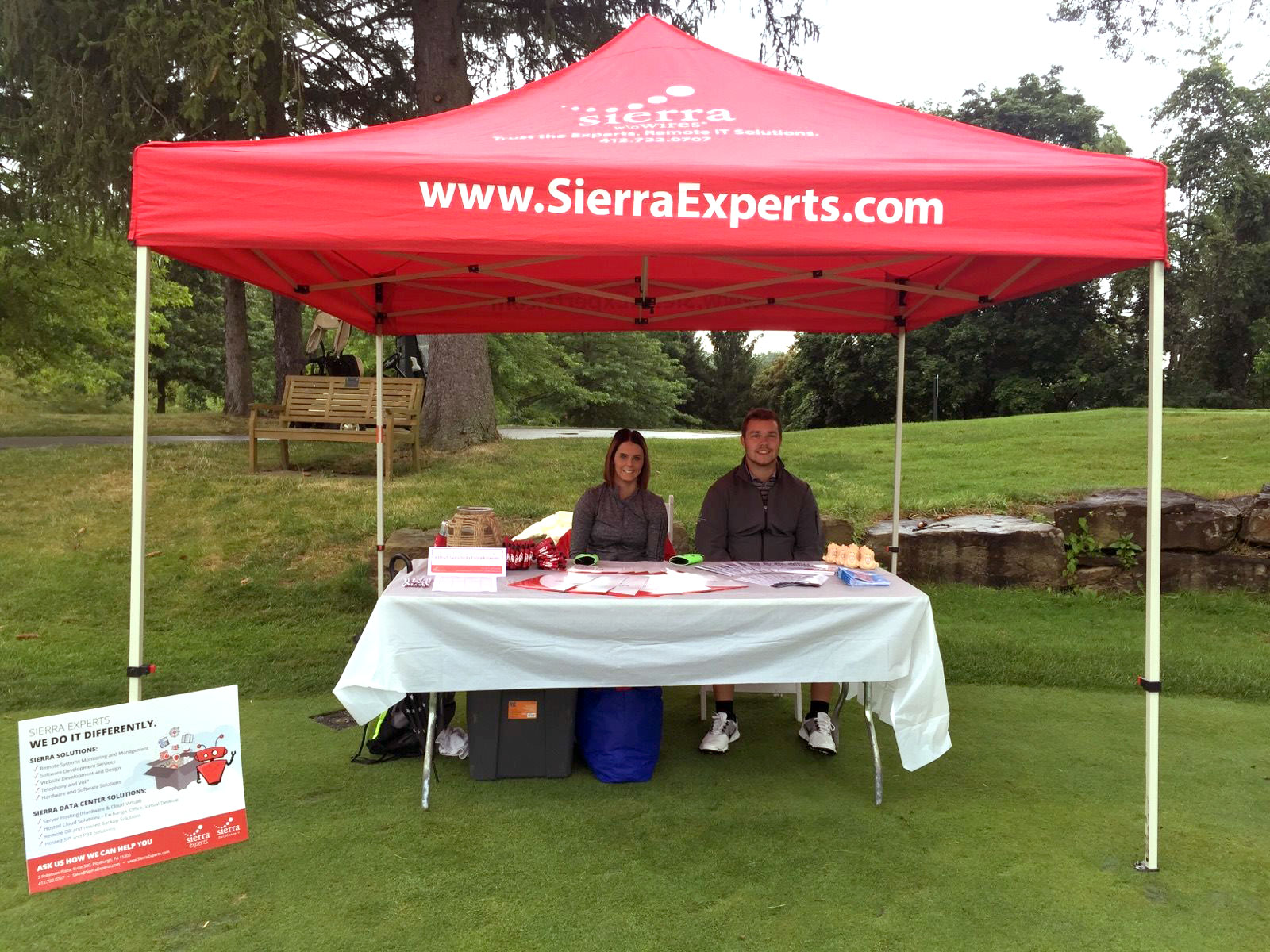 Sierra Sponsored the 2017 PSE Golf Outing