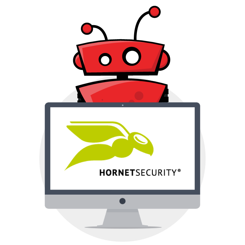 sierra experts and hornetsecurity partner graphic with xbert