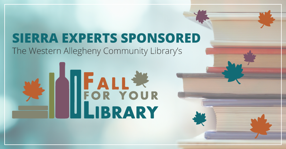 Sierra Sponsors the Annual 'Fall For Your Library' Event