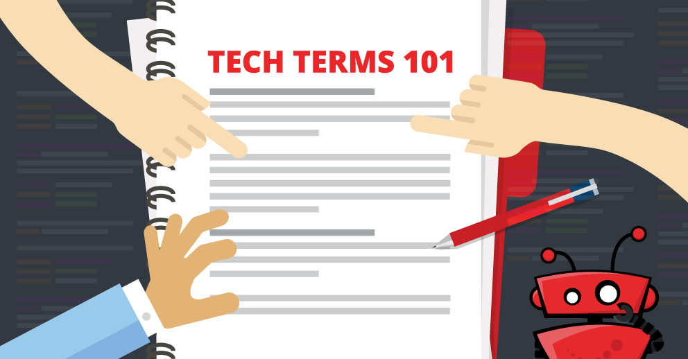 tech terms blog graphic