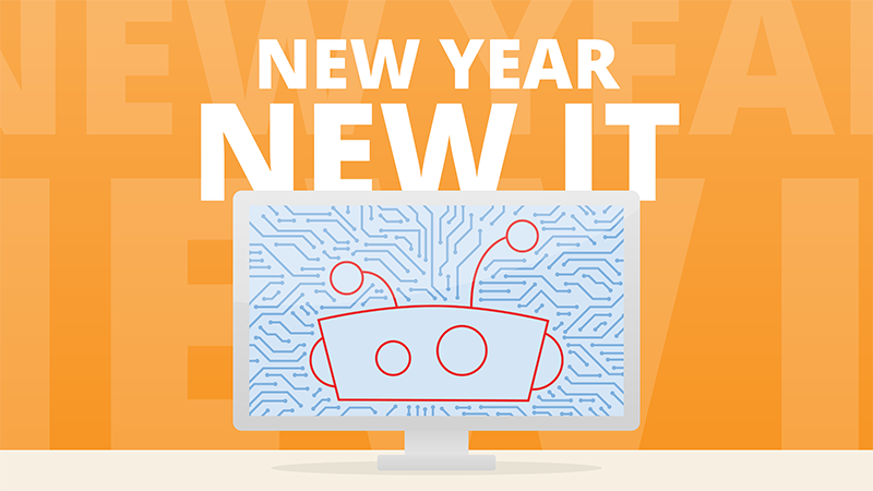 New Year, New IT – 5 Tech Trends We Are Watching This Year