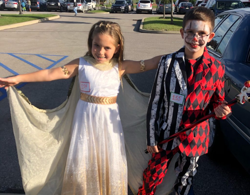 costumes at trunk or treat