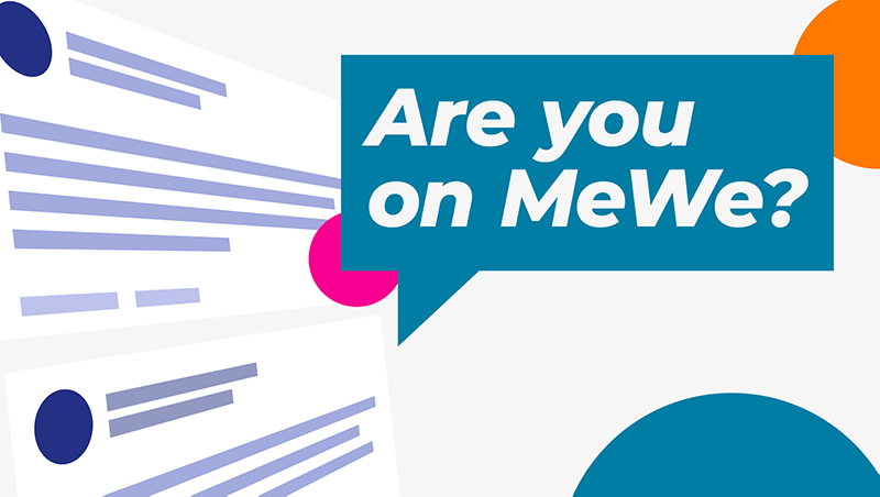 Are You on MeWe?