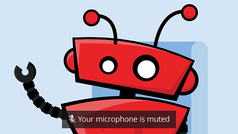 Your Mic is muted