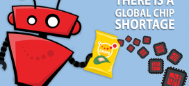 There is A Global Chip Shortage, and We Aren't Talking About Lay's