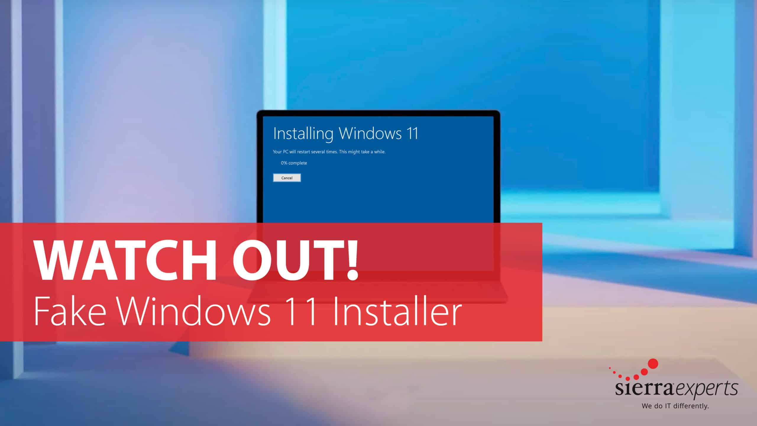 Watch Out Windows Users!- Fake Windows 11 Installer