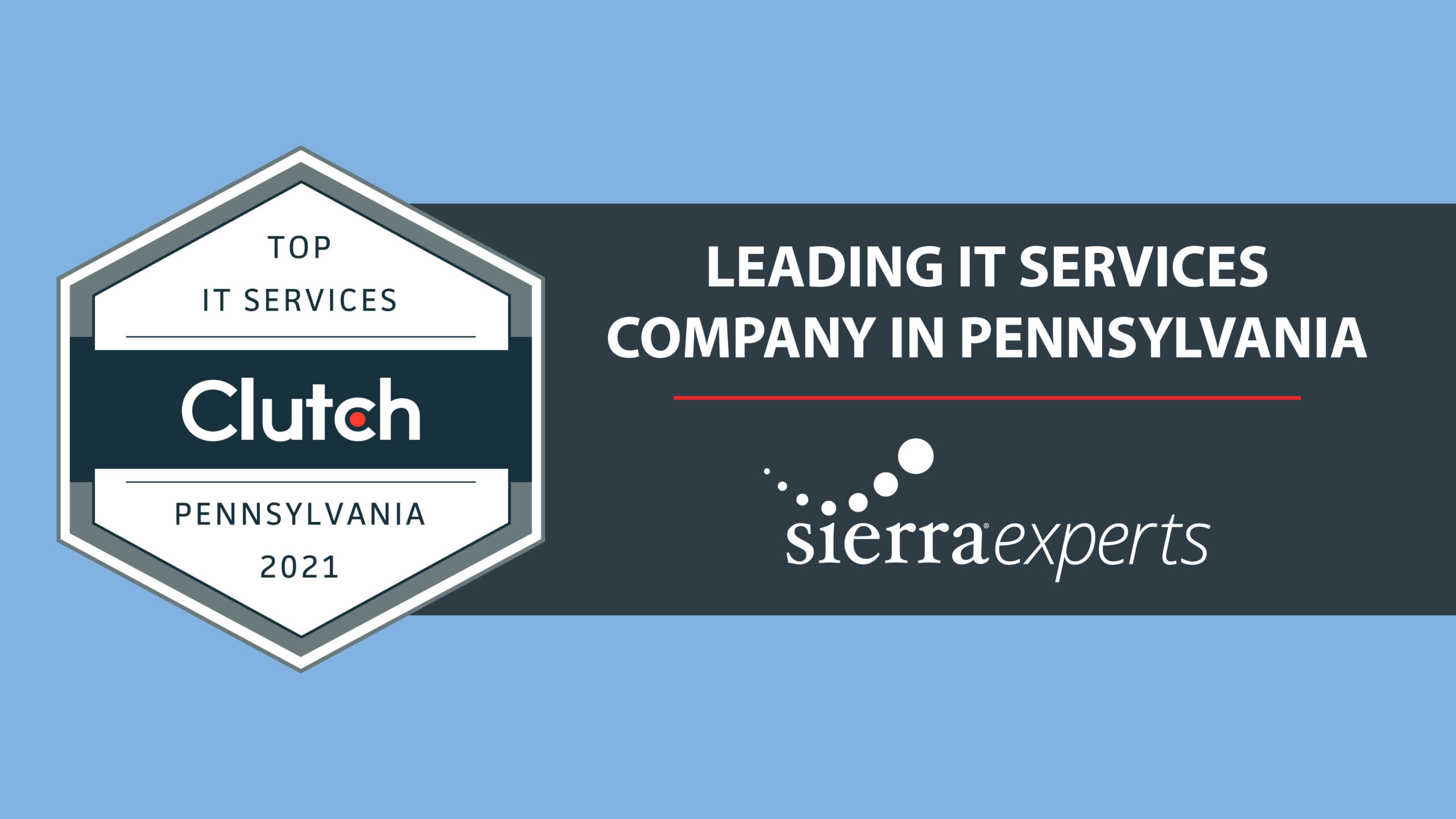 Clutch Names Sierra Experts as a Leading IT Services Company in Pennsylvania