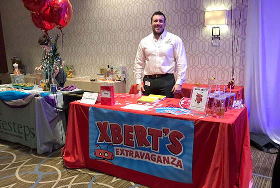 sierra experts' table at PAACC 2018 Mixer with Shaker event