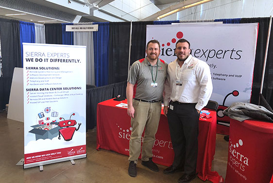 sierra experts at pittsburgh business show 2018